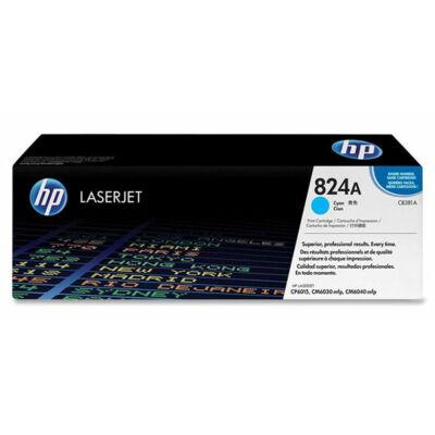 HP CB381A (824A) cián eredeti toner (≈21000 oldal)