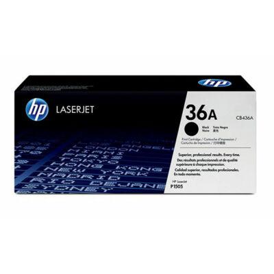 HP CB436A (36A) fekete eredeti toner (≈2000 oldal)