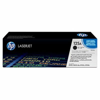 HP CB540A (125A) fekete eredeti toner (≈2200 oldal)