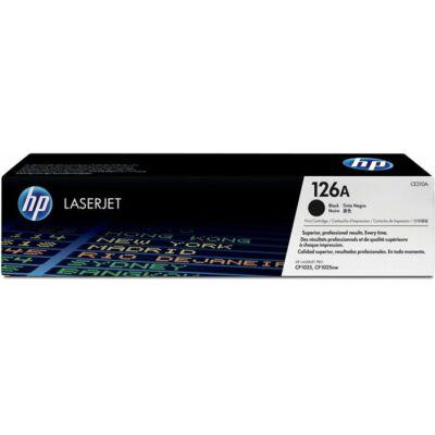 HP CE310A (126A) fekete eredeti toner (≈1200 oldal)
