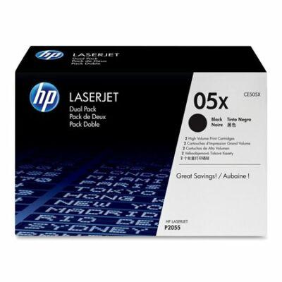 HP CE505X (05X) fekete eredeti toner (≈6500 oldal)