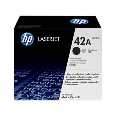 HP Q5942A (42A) fekete eredeti toner (≈10000 oldal)