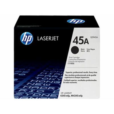 HP Q5945A (45A) fekete eredeti  toner (≈18000 oldal)