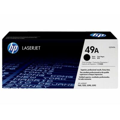 HP Q5949A (49A) fekete eredeti toner (≈2500 oldal)