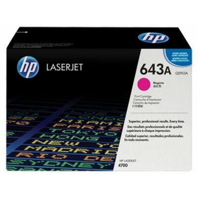 HP Q5953A (643A) magenta eredeti toner (≈10000 oldal)