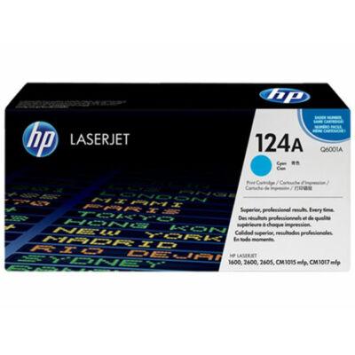 HP Q6001A (124A) cián eredeti toner (≈2000 oldal)