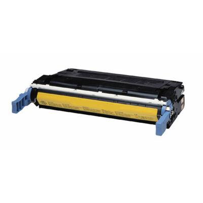 Utángyártott C9722A Y sárga toner HP nyomtatókhoz (≈8000 oldal)