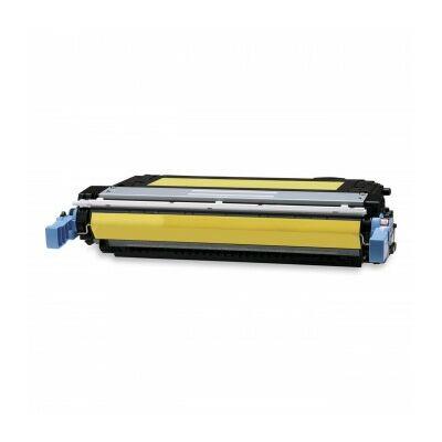 Utángyártott CB402A Y toner HP nyomtatókhoz (≈7500 oldal)