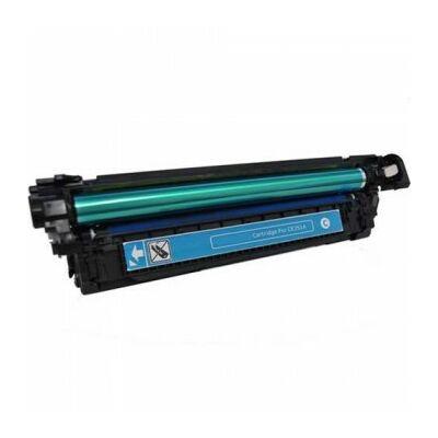 Utángyártott CE261 C cián toner HP nyomtatókhoz (≈11000 oldal)