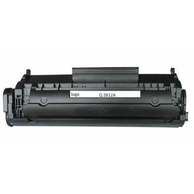 HP -hez Q2612A (12A)  utángyártott toner, ▉EXTRA kapaciás! ~3000 oldal ▉ (Canon CRG703 kompatibilis!)