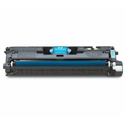Utángyártott Q3961A/C9701A C (cián) toner HP nyomtatókhoz  (Canon 701) (≈4000 oldal)