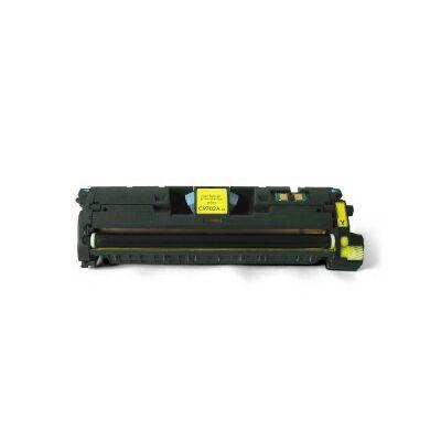 Utángyártott Q3962A/C9702A Y (sárga)  toner HP nyomtatókhoz (Canon 701) (≈4000 oldal)