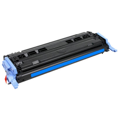 Utángyártott Q6001A cián toner HP nyomtatókhoz (≈2500 oldal)