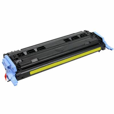 Utángyártott Q6002A sárga toner HP nyomtatókhoz (≈2500 oldal)