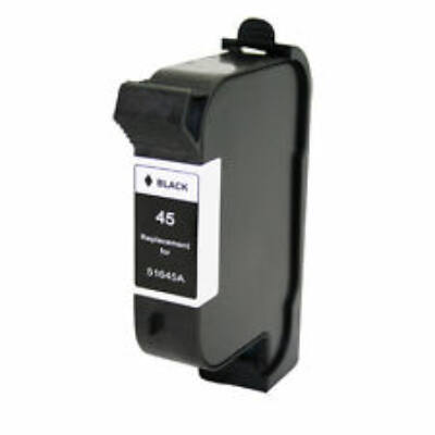 HP -hez Nr.45 (51645A) utángyártott fekete tintapatron, ~1200 oldal
