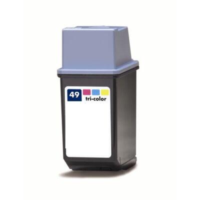 HP -hez Nr.49 (51649A) utángyártott színes tintapatron, ~600 oldal