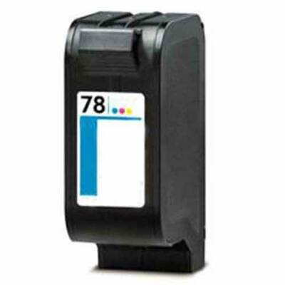 HP -hez Nr.78 (C6578A) utángyártott színes tintapatron, ~1200 oldal