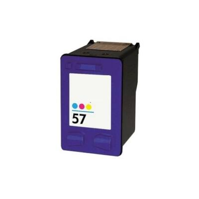 HP -hez Nr.57 (C6657A) utángyártott színes tintapatron, ~540 oldal