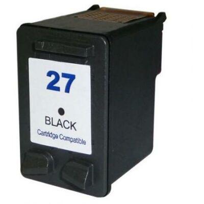HP -hez Nr.27 (C8727A) utángyártott fekete tintapatron, ~450 oldal