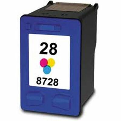 HP -hez Nr.28 (C8728A) utángyártott színes tintapatron, ~540 oldal