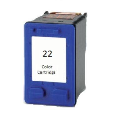 HP -hez Nr.22XL (C9352C) utángyártott színes tintapatron, ~565 oldal