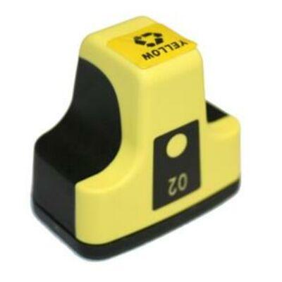 HP -hez Nr.363 (C8773E) utángyártott sárga tintapatron, ~400 oldal