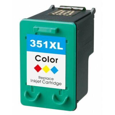 HP -hez Nr.351XL (CB338E) utángyártott színes tintapatron, ~580 oldal