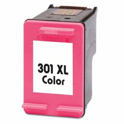 HP -hez Nr.301XL (CH564E) utángyártott színes tintapatron, ~450 oldal
