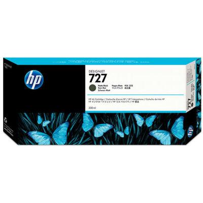HP nr.727 (C1Q12A) eredeti matt fekete tintapatron , 300ml