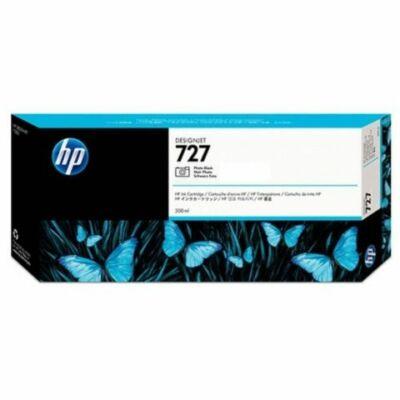 HP nr.727 (F9J79A) eredeti fotó fekete tintapatron , 300ml