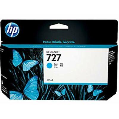 HP nr.727 (B3P19A) eredeti cián tintapatron , 130mlA