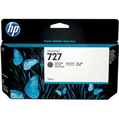 HP nr.727 (B3P22A) eredeti matt fekete tintapatron , 130ml