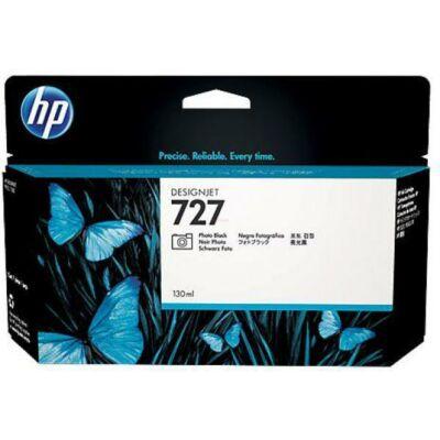 HP nr.727 (B3P23A) eredeti fotó fekete tintapatron , 130ml