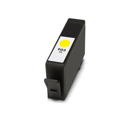 HP-hez Nr.903XL (T6M11AE) utángyártott sárga tintapatron, ~825 oldal
