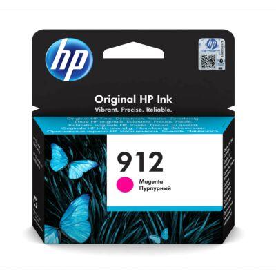 HP Nr.912 (3YL78) eredeti magenta tintapatron, ~315 oldal