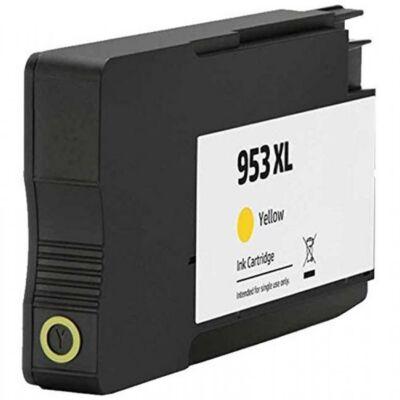 HP-hez Nr.953XL (F6U18AE) utángyártott sárga tintapatron, ~1600 oldal