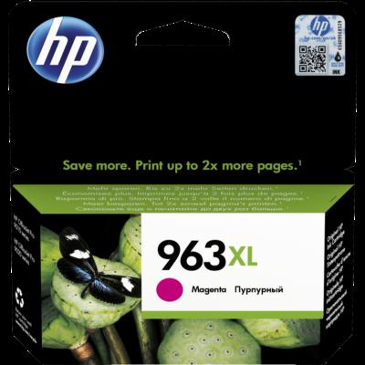 HP Nr.963XL (3JA28AE) eredeti magenta tintapatron, ~1600  oldal