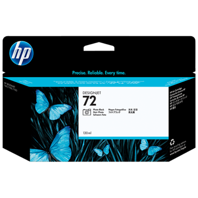 HP Nr.72 (C9370A) eredeti  fotó fekete tintapatron