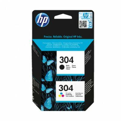 HP Nr.304 eredeti színes tintapatron multipakk (1db színes + 1 db fekete patron)