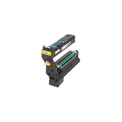 Utángyártott QMS 5430 Y sárga toner Minolta nyomtatókhoz (≈6000 oldal)