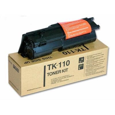 Kyocera TK110 fekete eredeti toner 6K (≈6000 oldal)