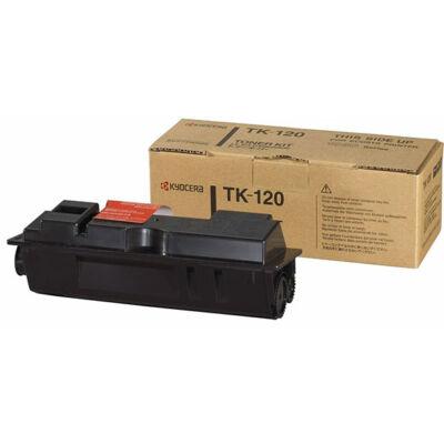 Kyocera TK120 fekete eredeti toner  (≈7000 oldal)