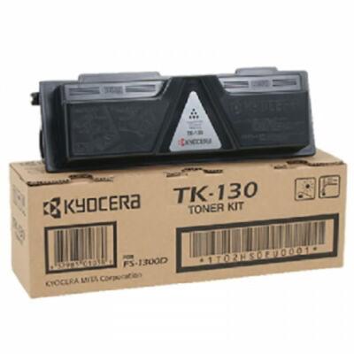 Kyocera TK130 fekete eredeti toner (≈7200 oldal)