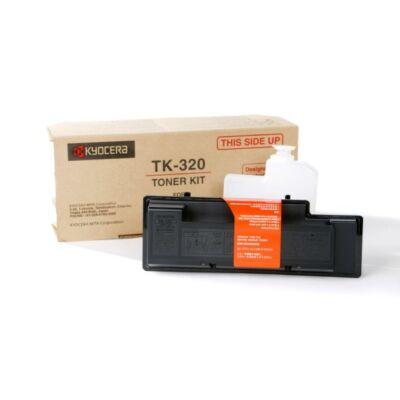 Kyocera TK320 fekete eredeti toner (≈15000 oldal)