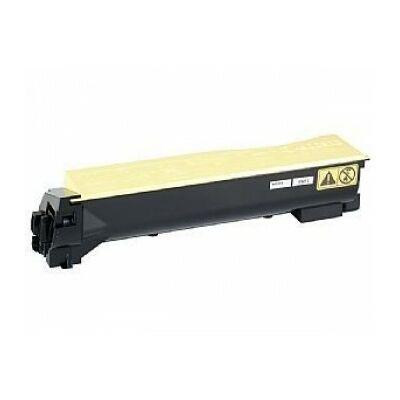 Utángyártott TK-550Y sárga toner Kyocera nyomtatókhoz (≈6000 oldal)