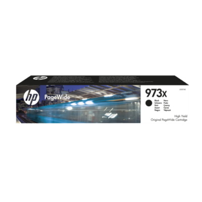 HP Nr.973X (L0S07AE) eredeti fekete patron, ~10000 oldal