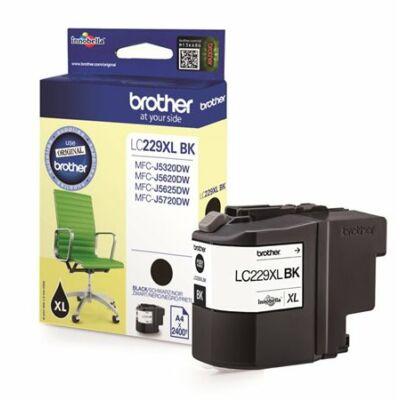 Brother LC229XL Bk (fekete) eredeti tintapatron