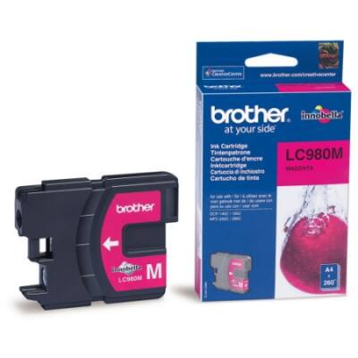 Brother LC980 M magenta eredeti tintapatron (lc980)