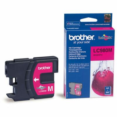 Brother LC980 M magenta eredeti tintapatron (lc980)