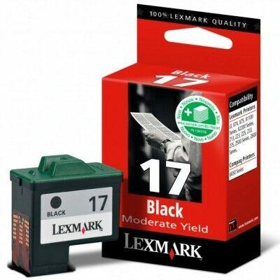 Lexmark Nr.17 (10NX217E) eredeti fekete tintapatron, ~220 oldal